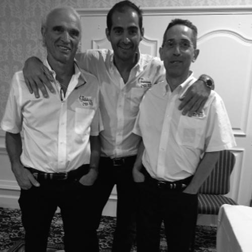 JP Barral, M. Chahab y A.Croibier.